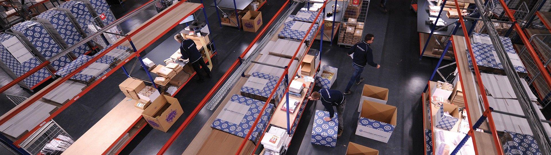 Dagelijks verlaten duizenden pakketten ons magazijn in Kapelle