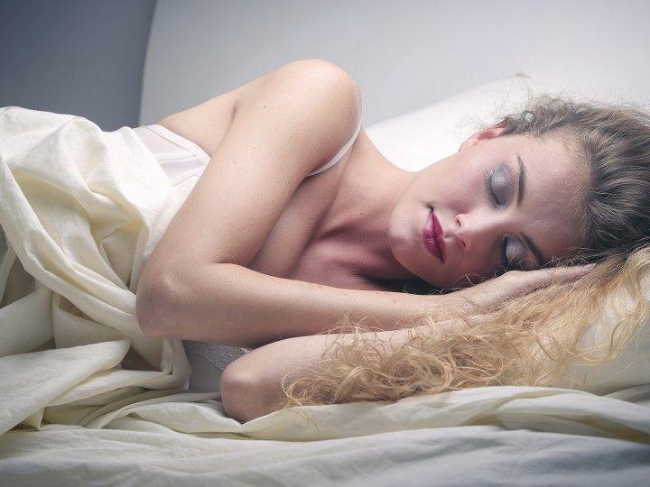Slapen met make-up