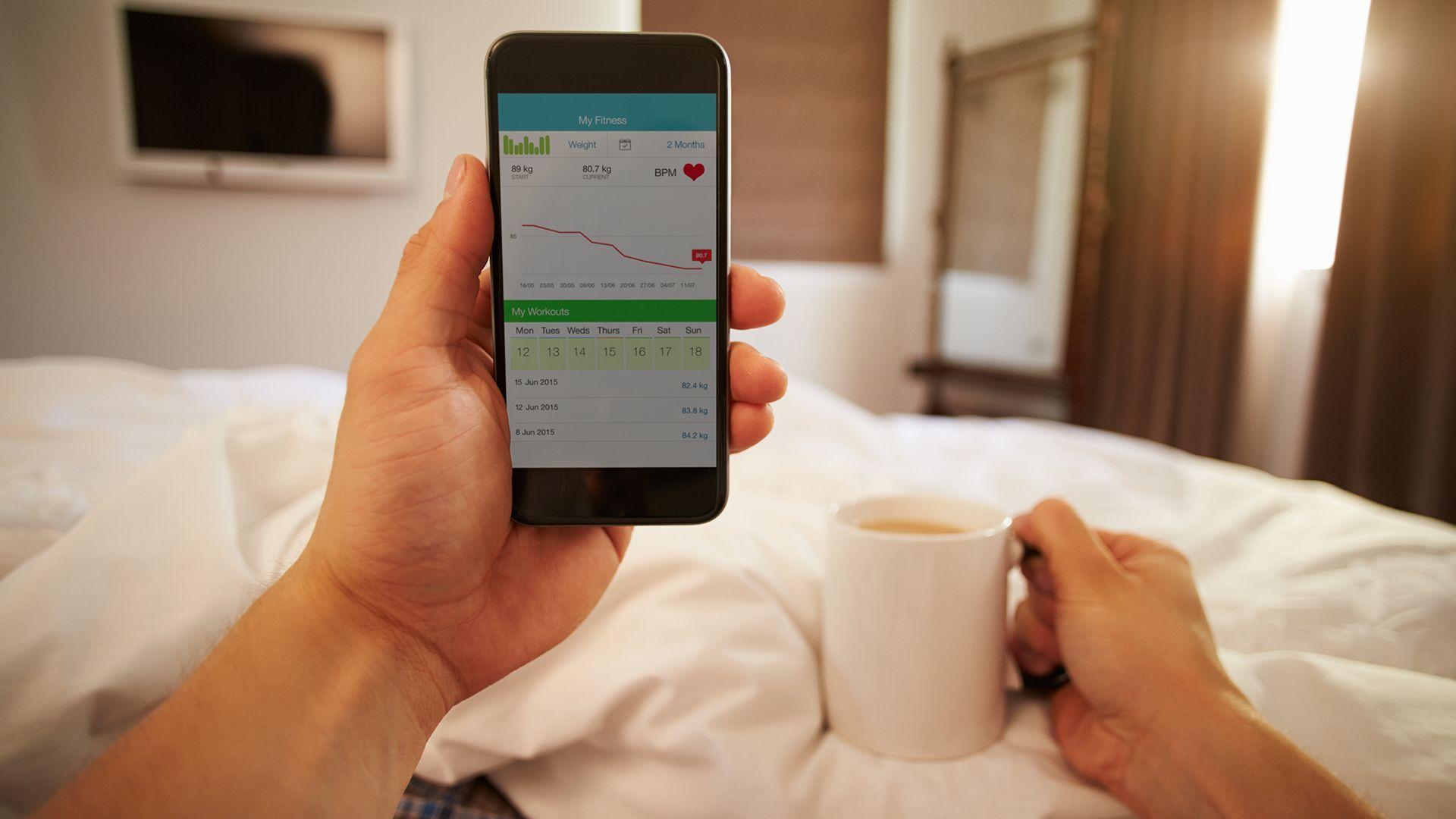 Beter slapen met slaap-apps