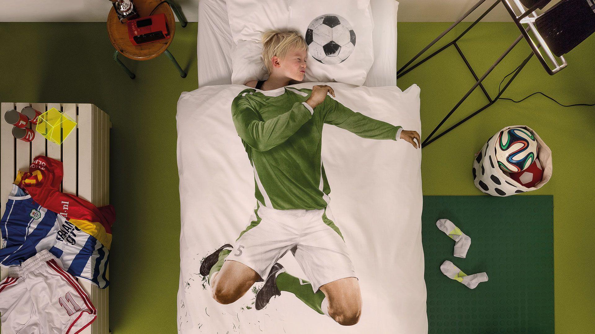Nieuwe Snurk Soccer Champ dekbedovertrek