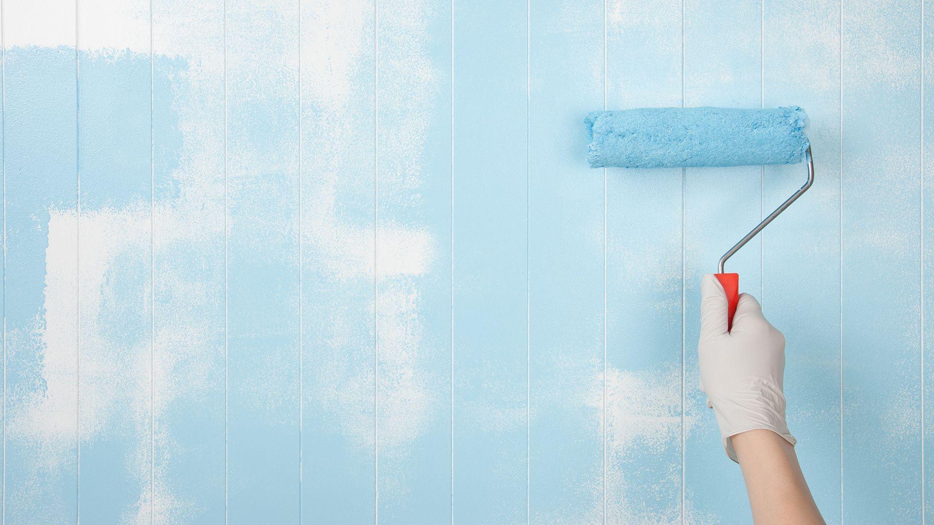 Slaapkamer Muur Kleuren : Lekker slapen verf je slaapkamer blauw