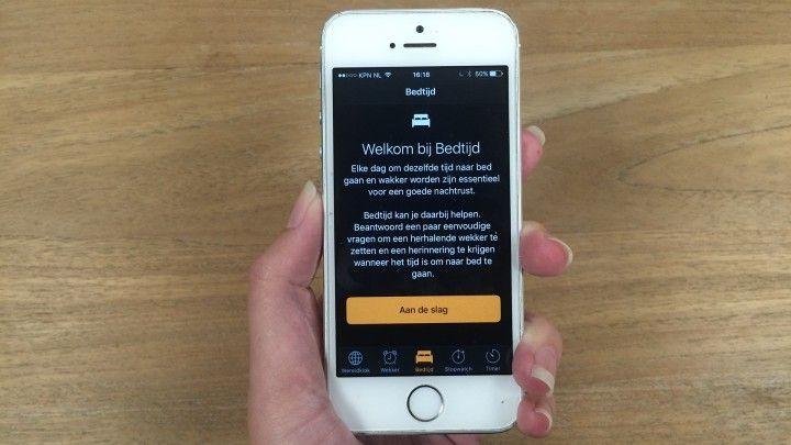 Bedtijd: dé nieuwe functie op je iphone