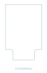 Een instopstrook in de vorm van een flessenhals
