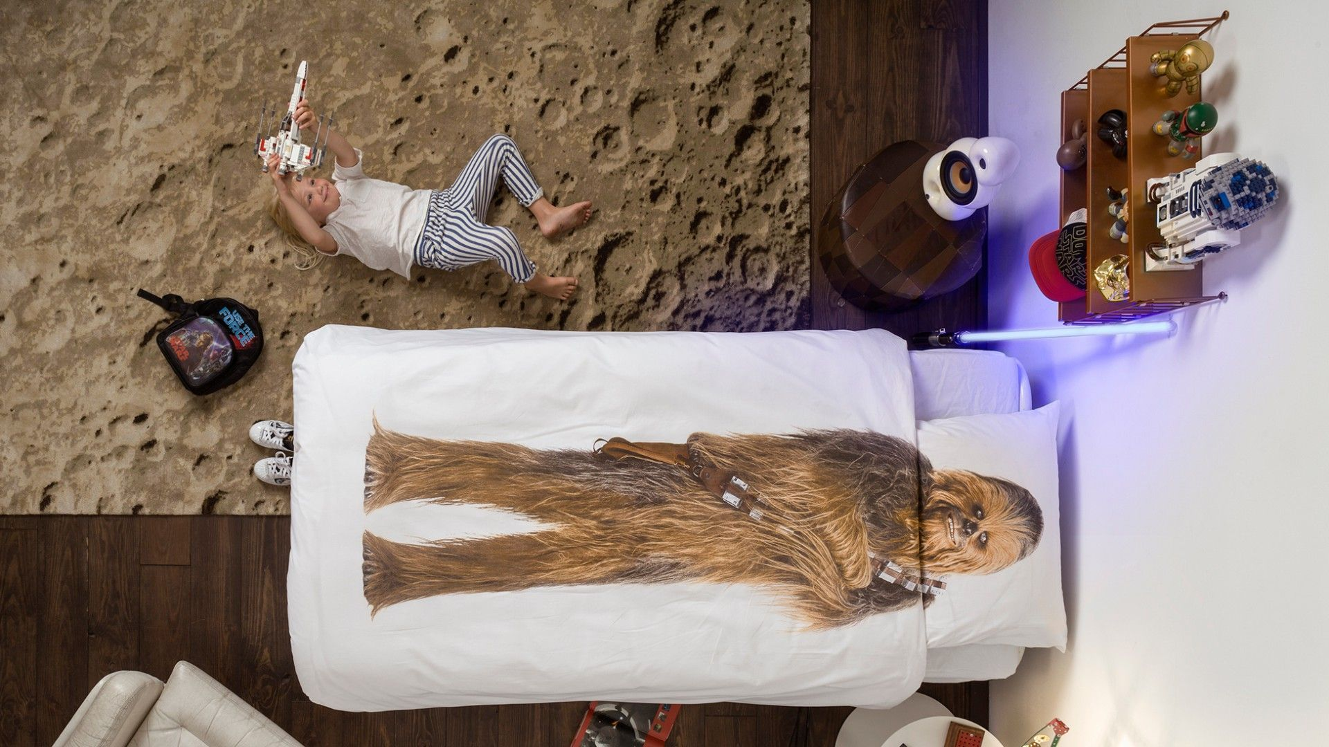 SNURK CHEWBACCA Dekbedovertrek Star Wars