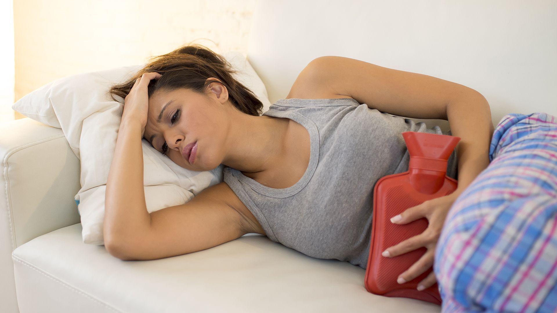 menstruatiepijn slaapositie lichamelijke klachten