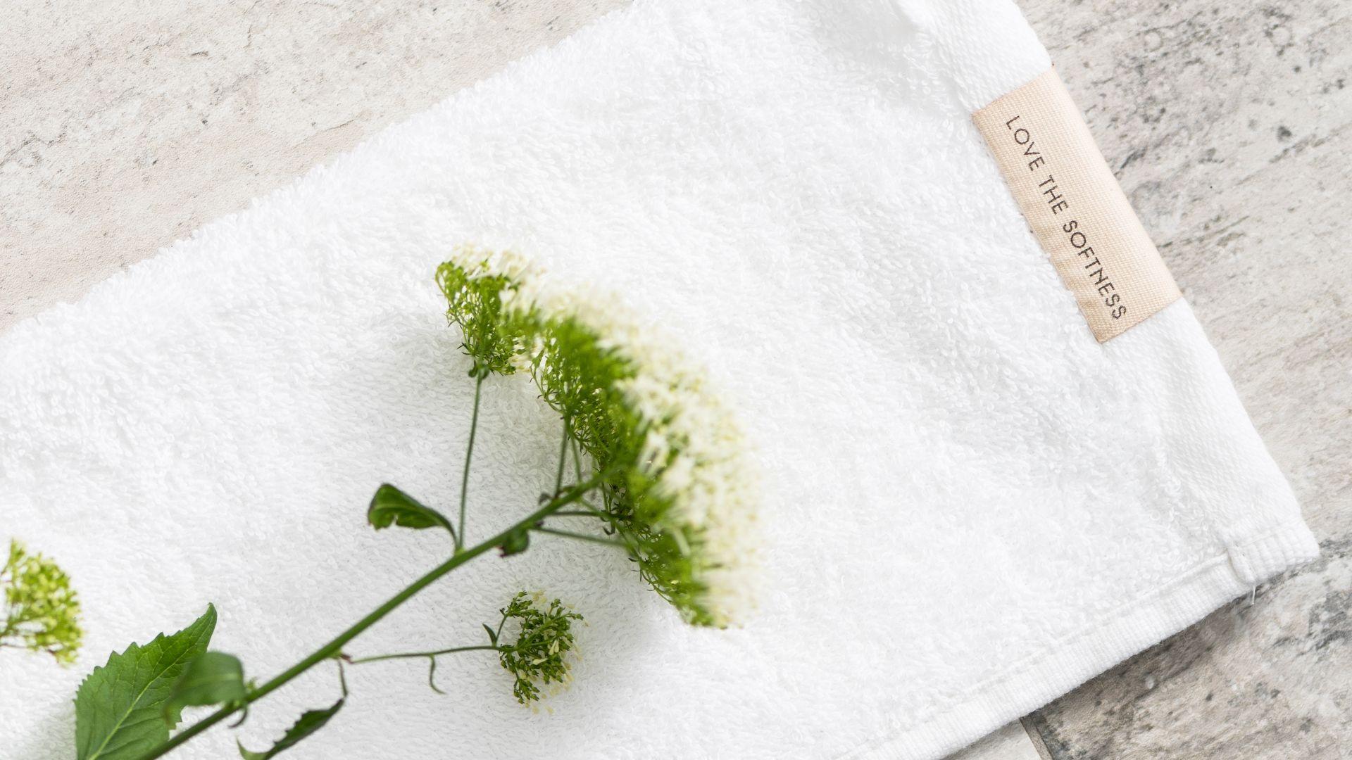 Walra Soft Cotton gastendoekje - wit