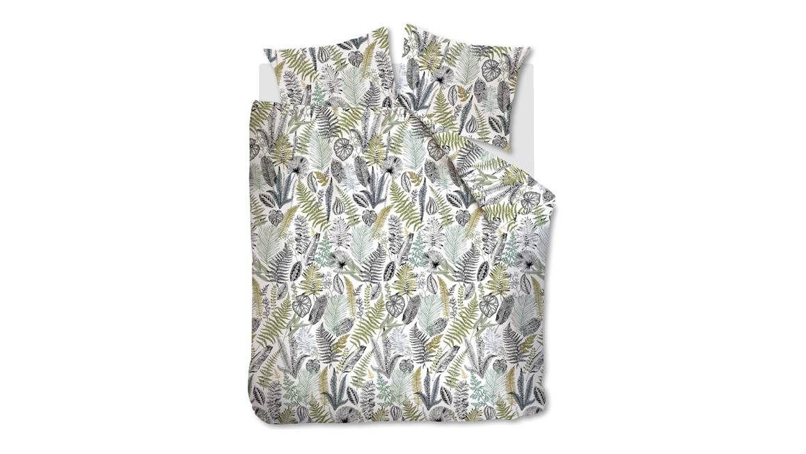 At Home Primeval dekbedovertrek past goed bij slaapkamerplanten
