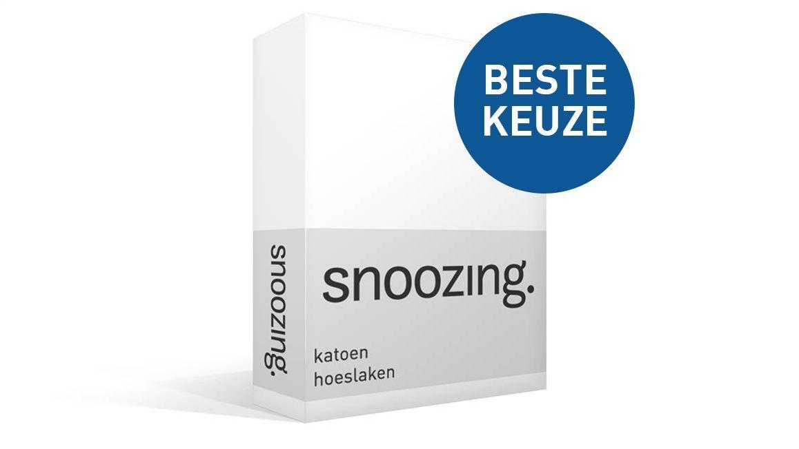 Snoozing katoen hoeslaken