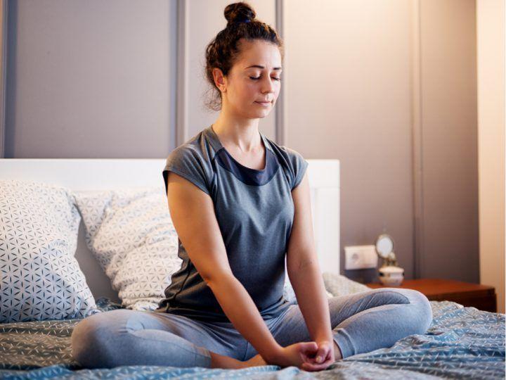 yoga mindfulness voor goede nachtrust
