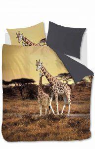 Tover je slaapkamer om in de Masai-steppe in Tanzania met dit prachtige dekbedovertrek van 100% katoen!