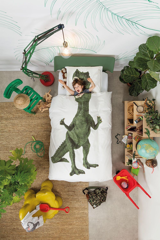 SNURK Dinosaurus Rex dekbedovertrek
