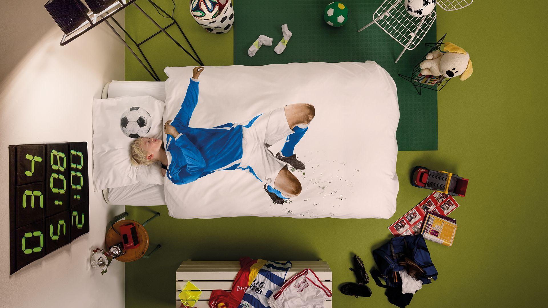 SNURK Soccer Champ dekbedovertrek