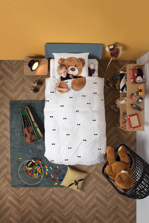 SNURK Teddy dekbedovertrek