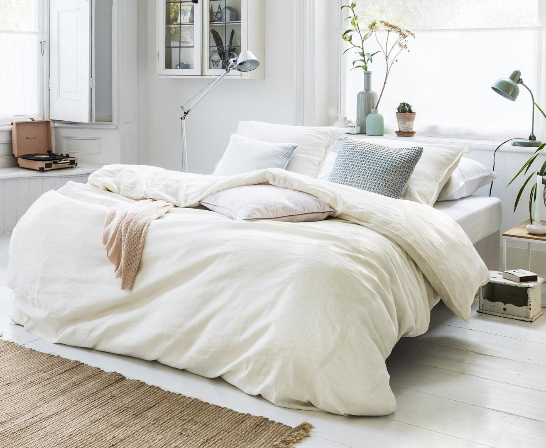 Linnen Dekbed Slaapkamer : Ervaar de luxe van een linnen dekbedovertrek! smulderstextiel.nl blog
