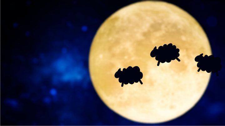 Wanhopig slaapjes tellen is niet langer nodig! Lees onze blog waarin we tips hebben om tijdens volle maan toch lekker te slapen!