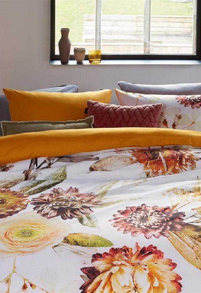 Beddinghouse Fall Bouquet dekbedovertrek - Ochre