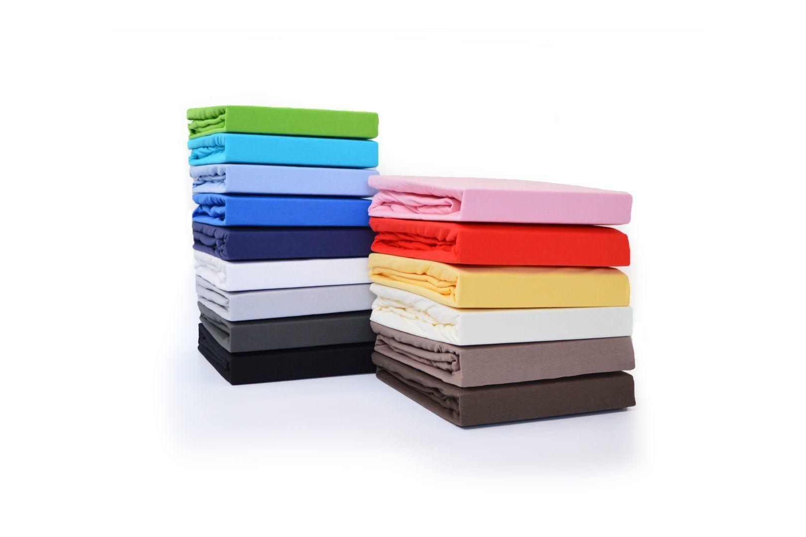 Snoozing hoeslakens zijn er in vele verschillende kleuren