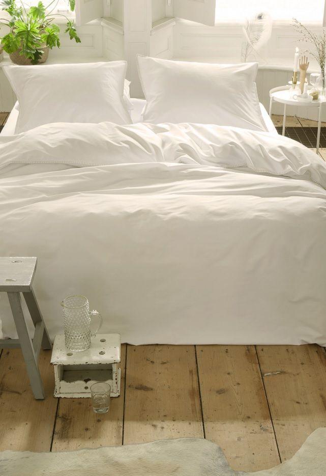 Walra Fine Feston dekbedovertrek - White