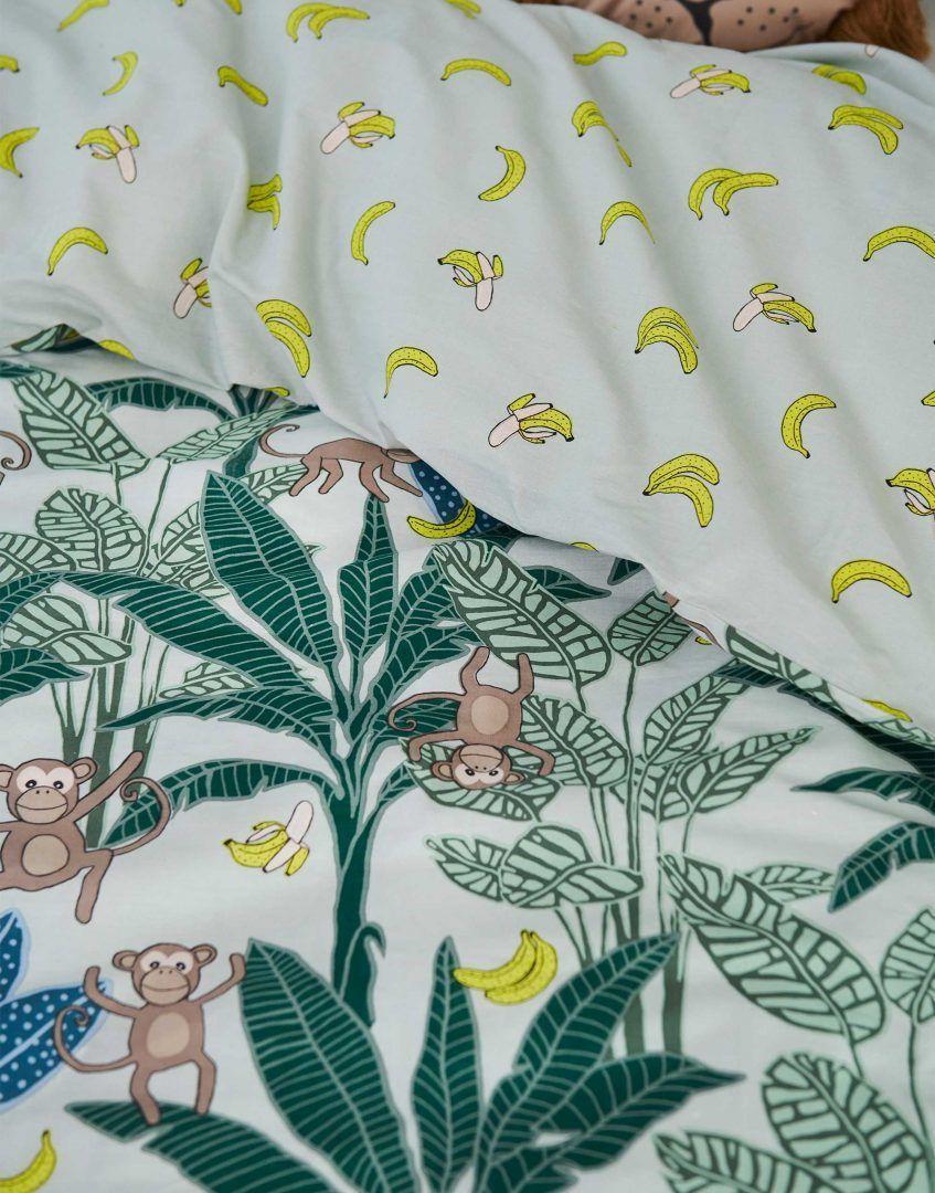 Ervaar de slaapbevorderende werking van bananen met het Covers & Co Ayla dekbedovertrek