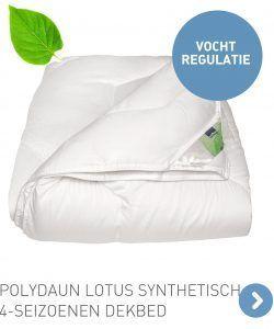 Polydaun Lotus synthetisch 4-seizoenen dekbed
