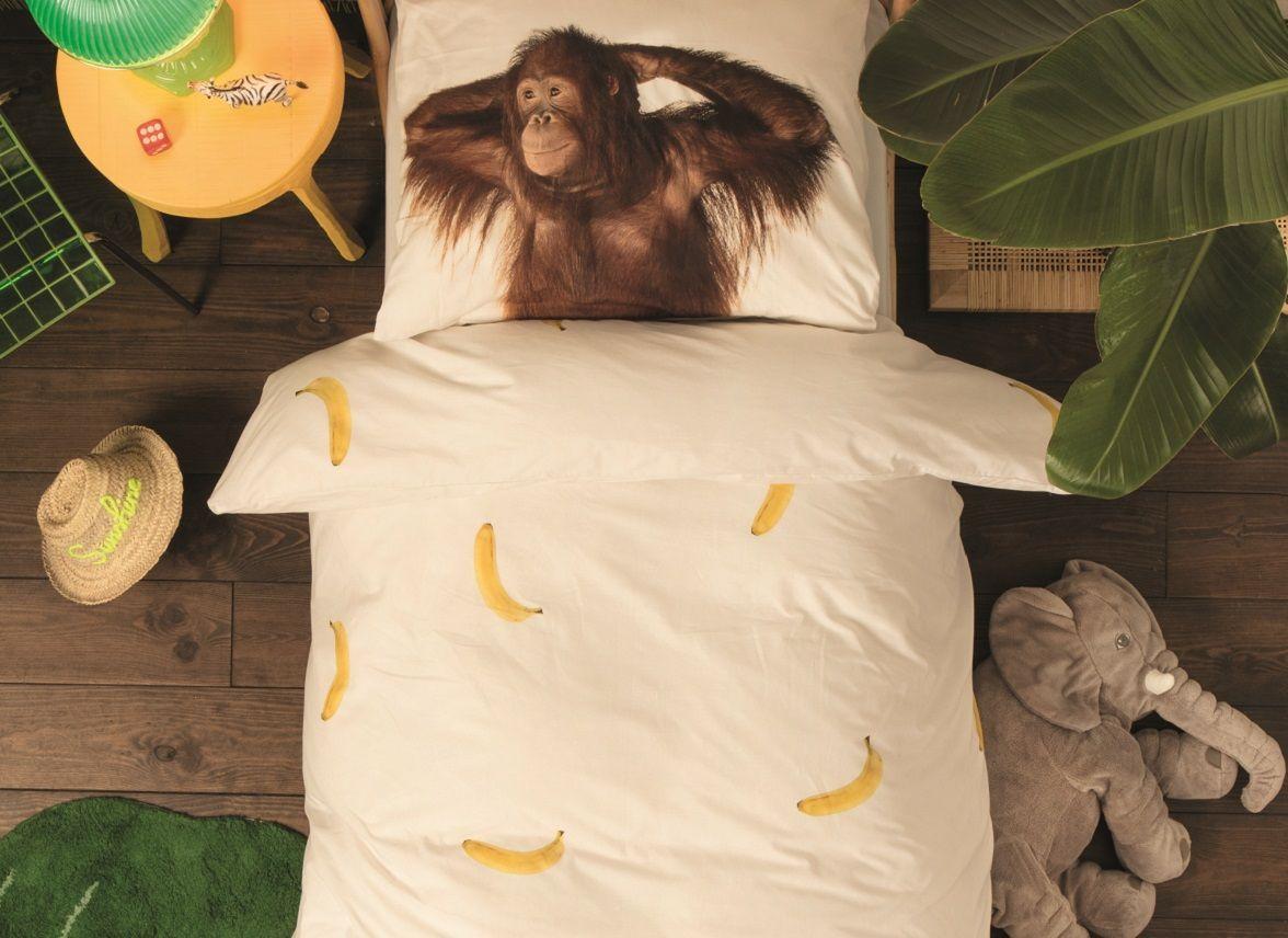 Banana Monkey dekbedovertrek - De 15 mooiste sinterklaascadeaus van SNURK