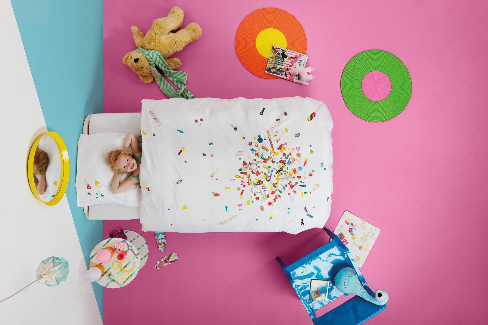 Candy Blast dekbedovertrek - De 15 mooiste sinterklaascadeaus van SNURK