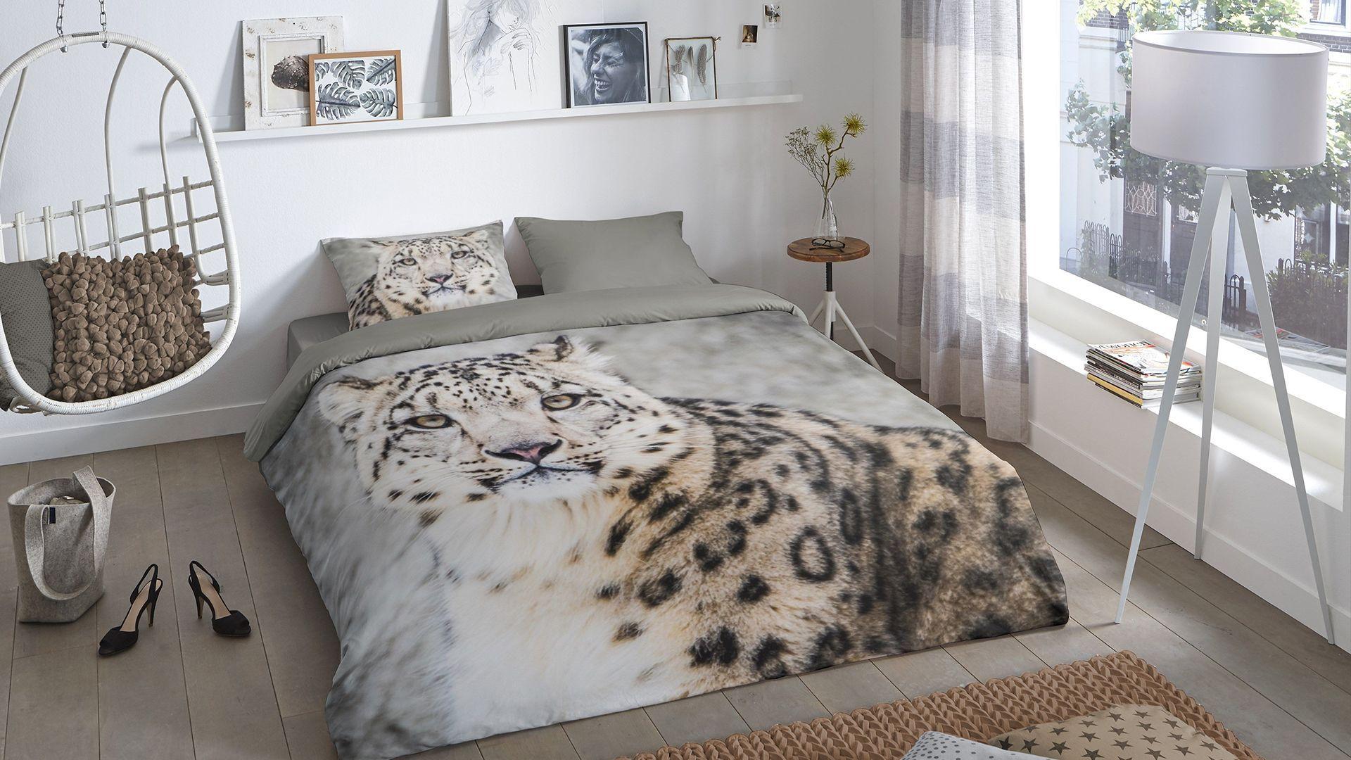 Good Morning Snow Leopard dekbedovertrek