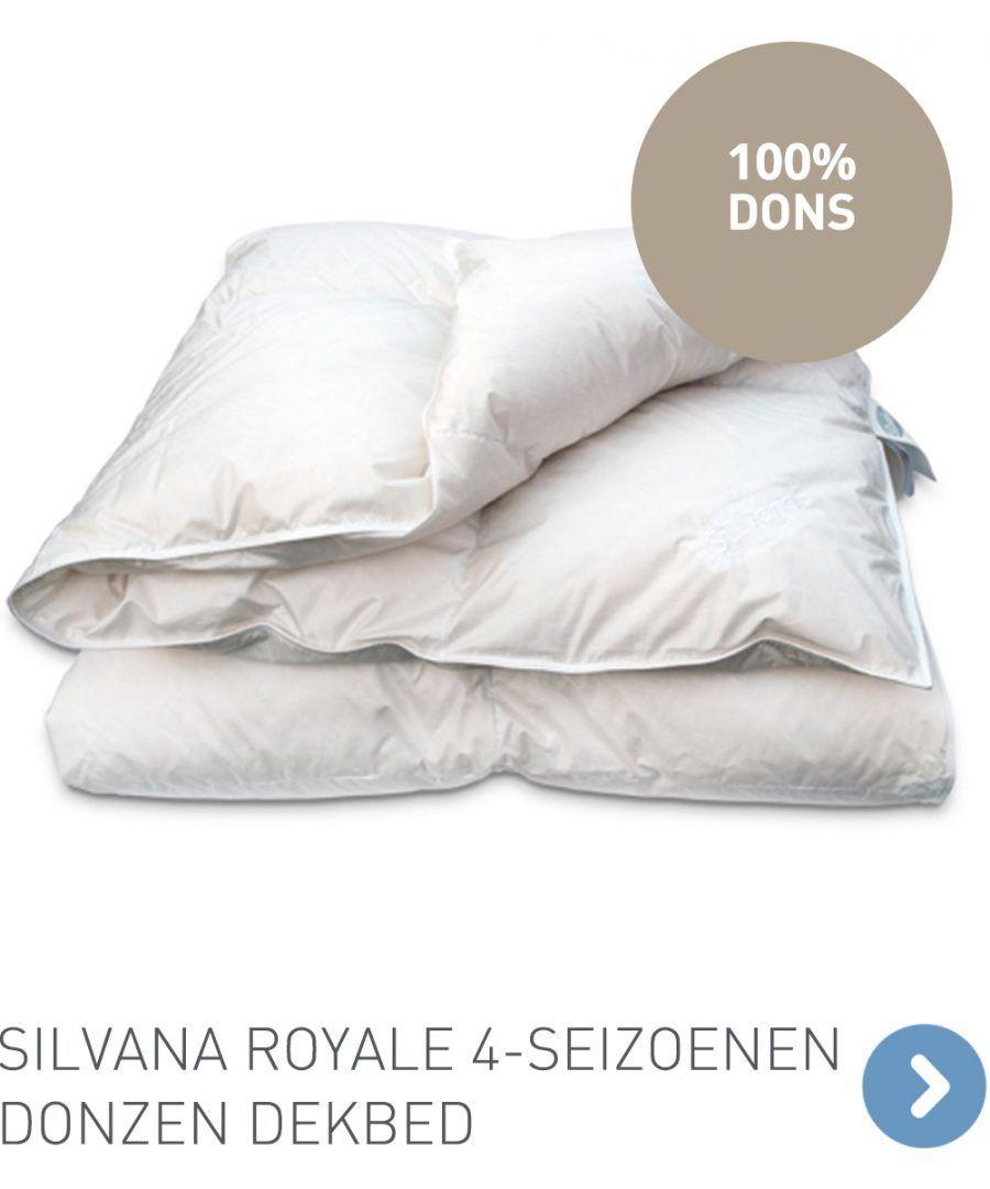 Silvana Royale donzen 4-seizoenen dekbed
