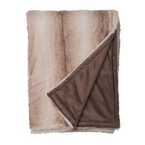 Snoozing Novacane fleece plaid bruin