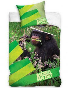 Animal Planet dekbedovertrek - - Monkey Day