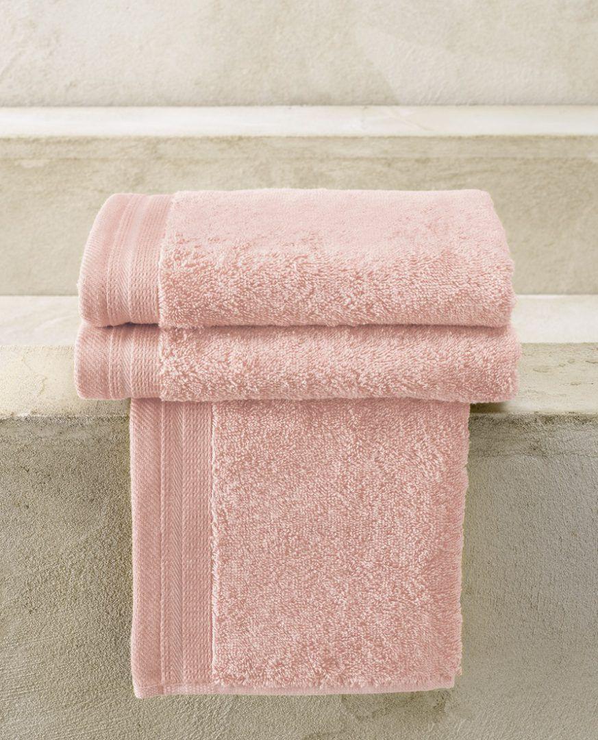 Contessa gastendoekje (40x60 cm) - Ice Pink - De Witte Lietaer badtextiel