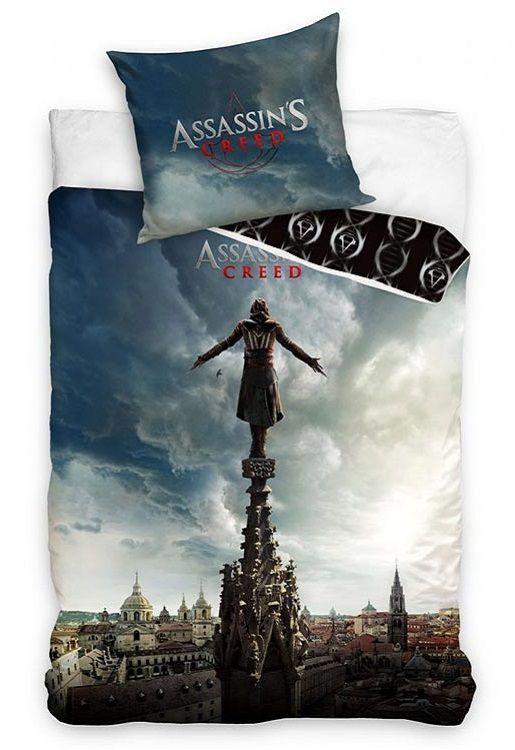 Assassin's Creed dekbedovertrek - Gamen in bed