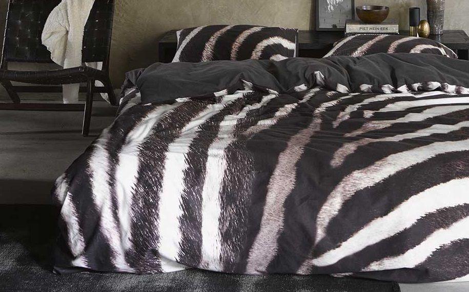 Essenza Zebra flanel dekbedovertrek - Zo kom jij de winter door