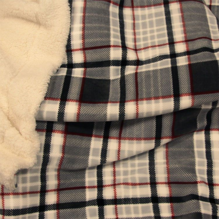 Unique Living Larsson fleece plaid - Zo kom jij de winter door