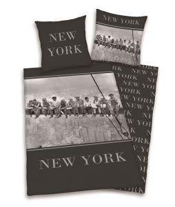 New York dekbedovertrek - Lesje topografie voor je kind