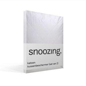 Snoozing kussenbeschermer - slapen met nat haar