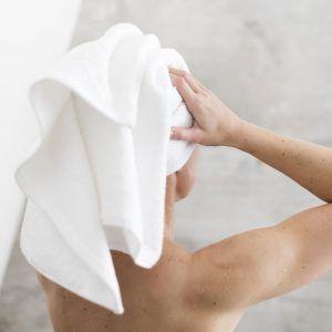 Walra Soft Cotton handdoek - slapen met nat haar