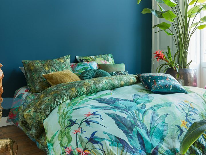 Beddinghouse Lush Oasis storybed - typisch Vivid Jungle