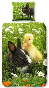 Good Morning Spring dekbedovertrek - be happy
