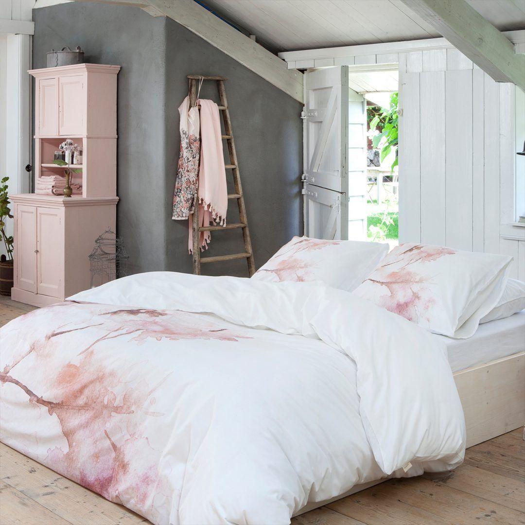 Walra Pink Blossom dekbedovertrek