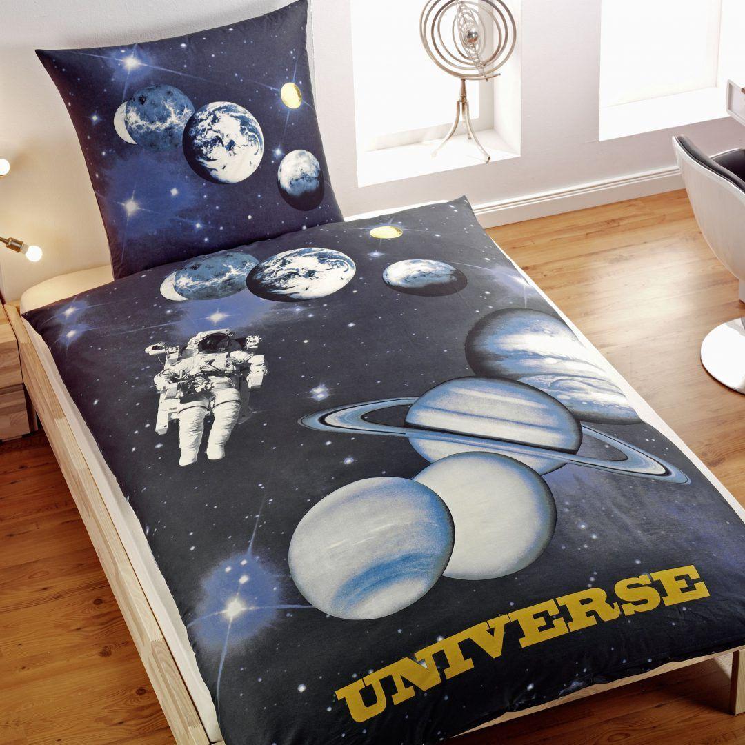 Universe dekbedovertrek - Dag van de ruimtevaart