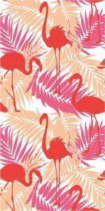Clarysse Flamingo strandlaken
