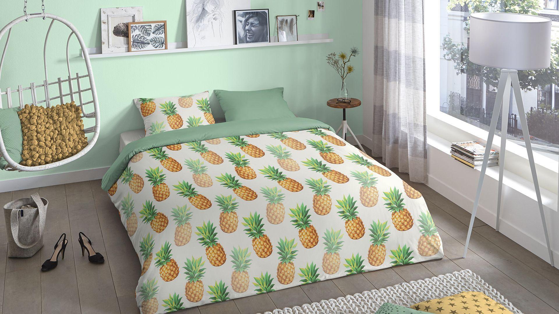 Good Morning Ananas dekbedovertrek