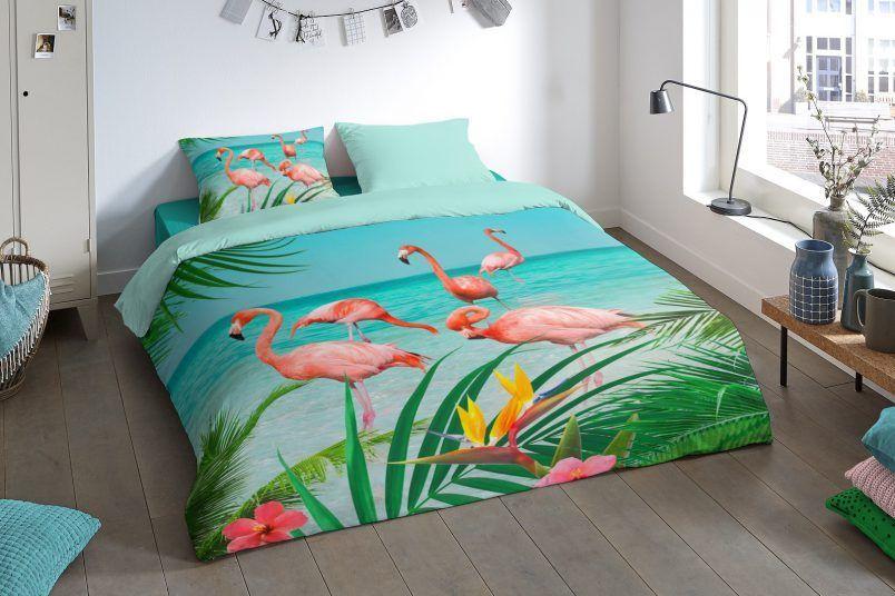 Pure Flamingo dekbedovertrek-uitgelicht