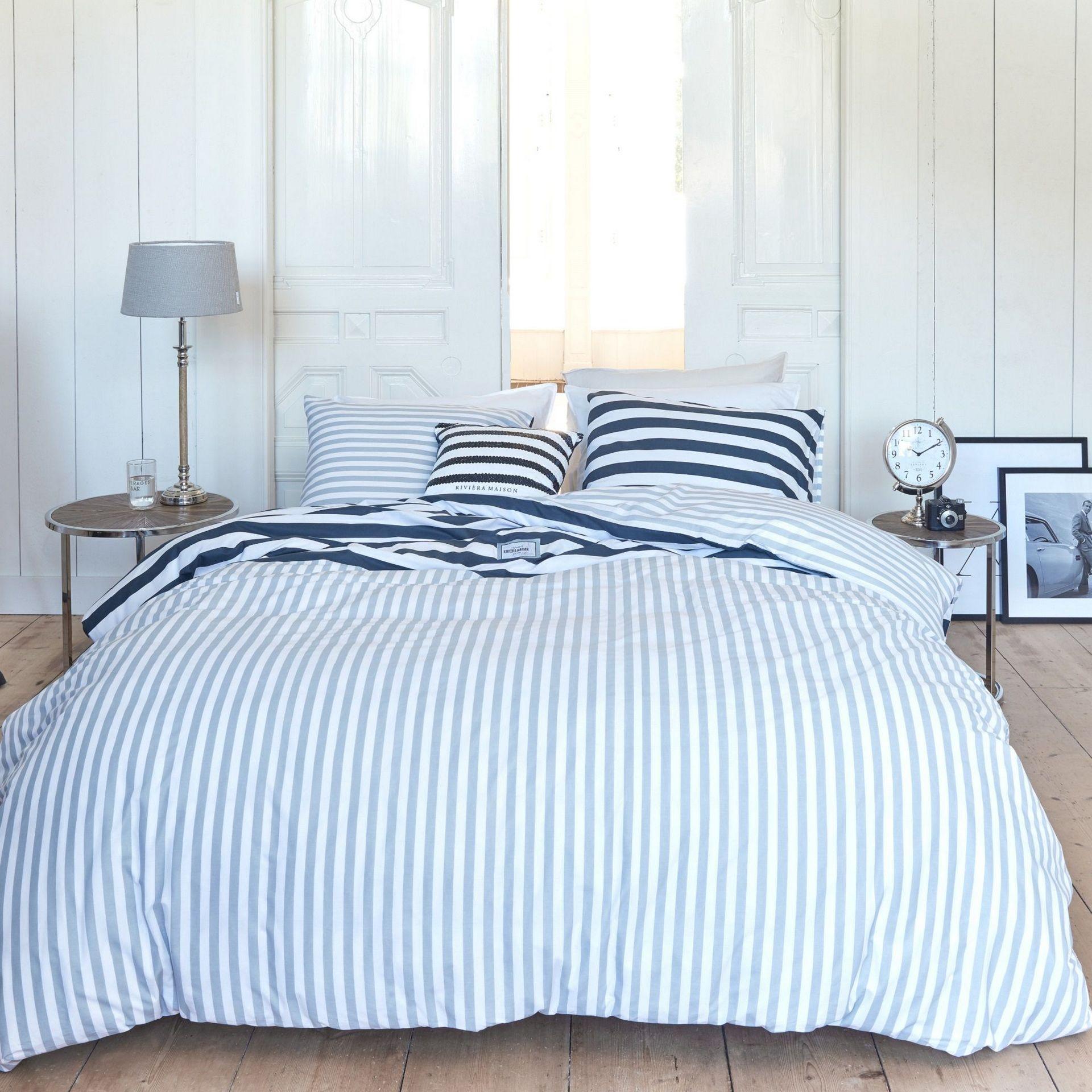Rivièra Maison Harbour dekbedovertrek - in 5 stappen een landelijke slaapkamer