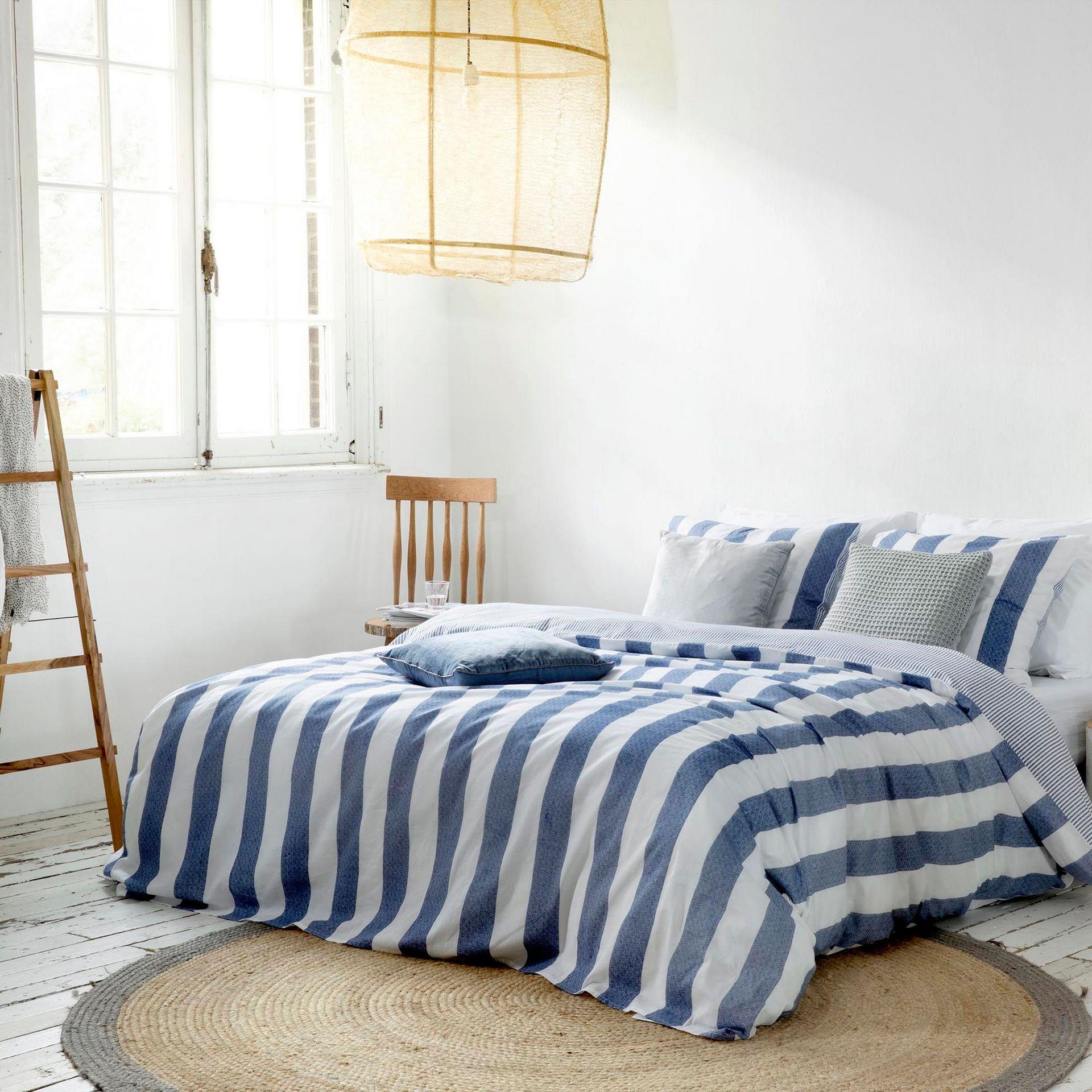 Walra Everline dekbedovertrek - in 5 stappen een landelijke slaapkamer