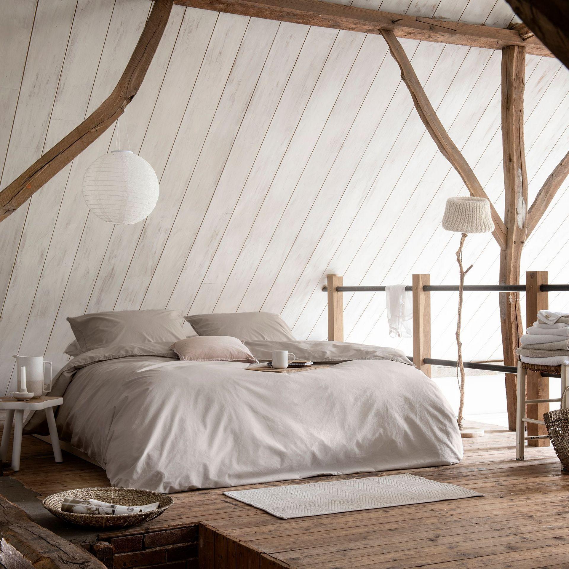 Walra The New Vintage dekbedovertrek - in 5 stappen een landelijke slaapkamer