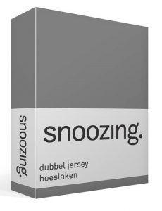 Snoozing dubbel jersey hoeslaken