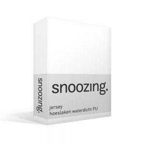Snoozing jersey waterdicht PU hoeslaken