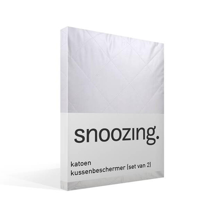 Snoozing kussenbeschermer (set van 2)